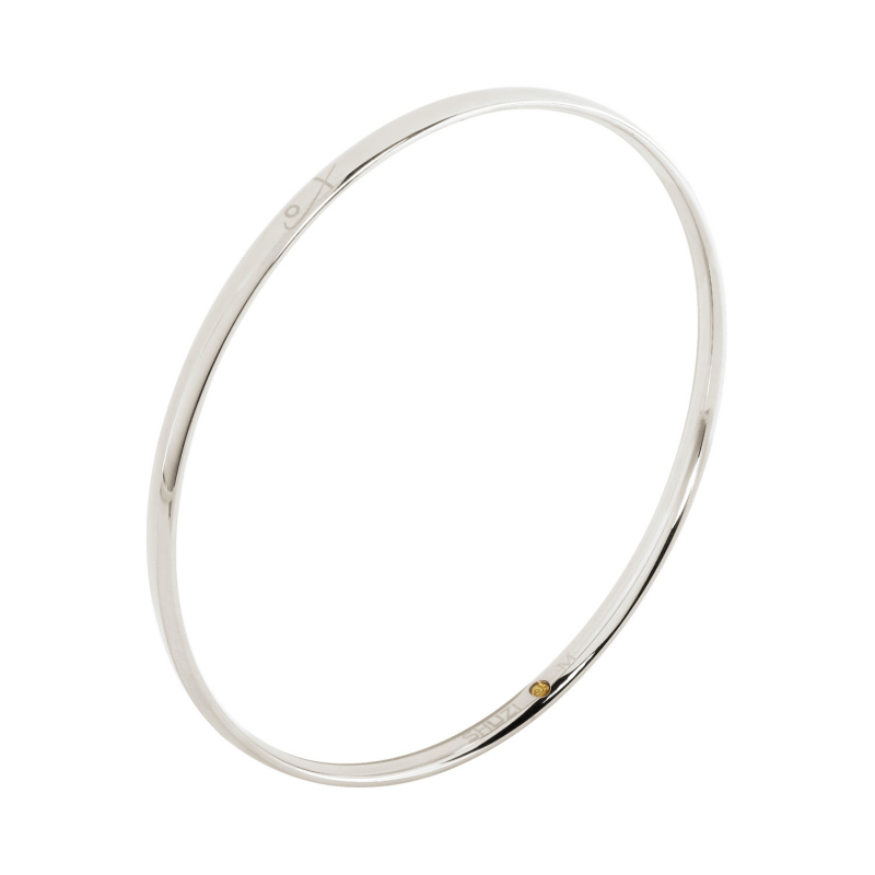 Polished Bangle (SS)
