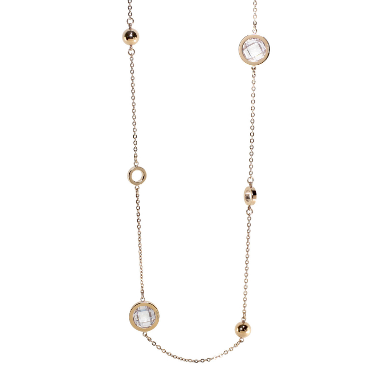 Catalyst Necklace Rose Gold...