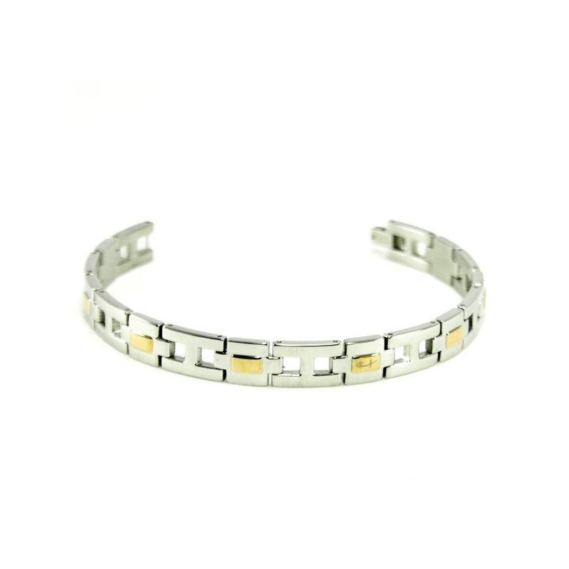 Two Tone Bracelet (SS)
