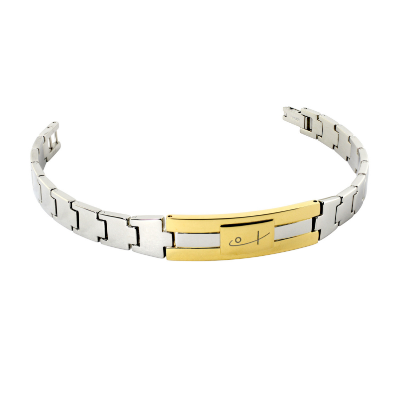 Two Tone Watch Bracelet (SS)