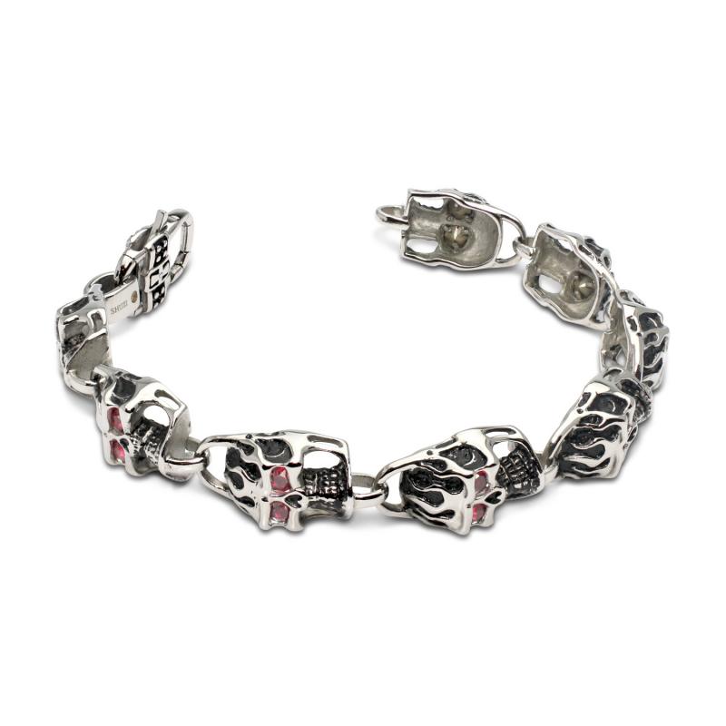 Crystal Eye Bracelet Red (SS)