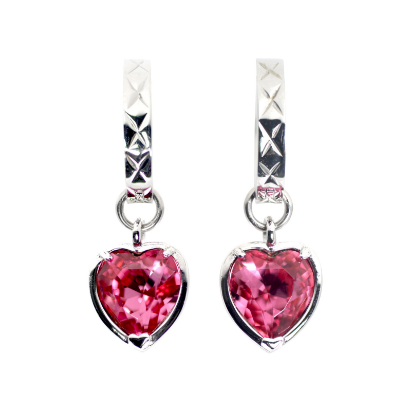 Heart Earrings (S925)